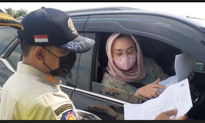 Rombongan Anggota DPRD Ini Lolos Penyekatan di Tol Ngawi Tanpa Surat Bebas Covid-19