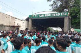 Berlangsung Sampai Sore, Begini Hasil Mediasi Buruh-Manajemen Pan Brothers Boyolali