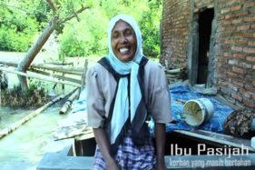 Cerita Pasijah 11 Tahun Jadi Penjaga Desa Tenggelam di Demak: Dilindungi Mbah Mudzakir