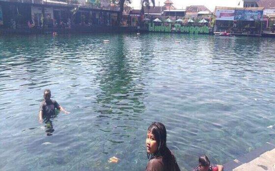 H+1 Lebaran, Pengunjung Wisata Air di Klaten Sepi