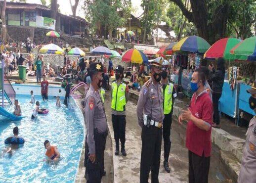 Patroli Objek Wisata Air Klaten, Polisi Tak Temukan Pelanggaran Protokol Kesehatan