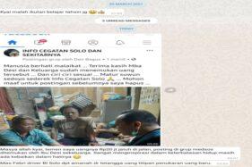 Wanita Solo yang Kembalikan Uang Rp20 Juta ke Pemilik Dipuji Ustaz Yusuf Mansur