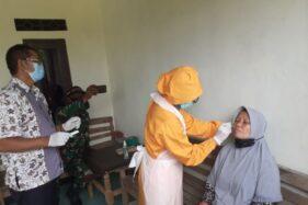 Kadung Sampai Rumah, Pemudik Sukoharjo Didatangi Satgas Covid-19 Untuk Tes Antigen