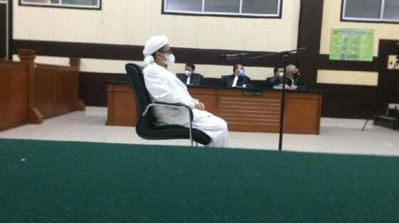 Kasus Kerumunan Petamburan, Habib Rizieq Dituntut 2 Tahun Penjara
