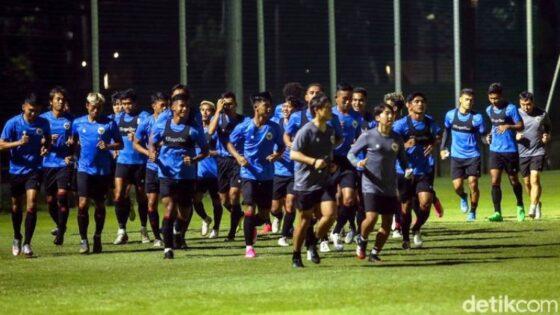 Timnas Indonesia akan menjalani TC di Dubai, Uni Emirate Arab, selepas Lebaran. (detikcom/Rifkianto Nugroho)