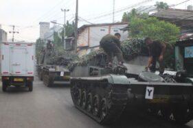 Sebar Hoaks Tank TNI untuk Halau Pemudik, Warga Diciduk