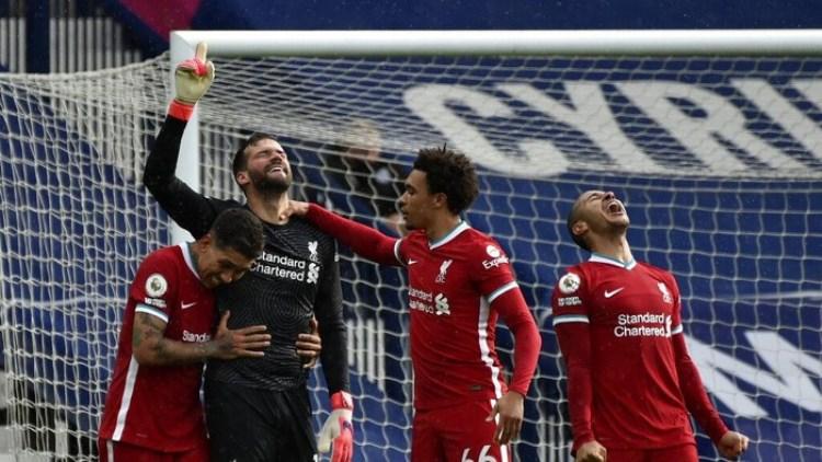 West Brom 1-2 Liverpool: Kiper Alisson Cetak Gol, The Reds Menang Dramatis