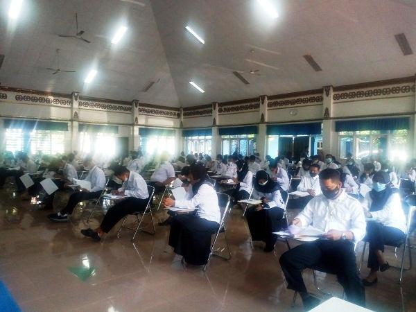 3.533 Peserta Tes Bersaing Isi 970 Lowongan Perangkat Desa di Grobogan