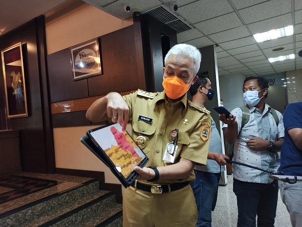 Parah! Zona Merah Covid-19 di Jateng Bertambah Jadi 8 Kabupaten