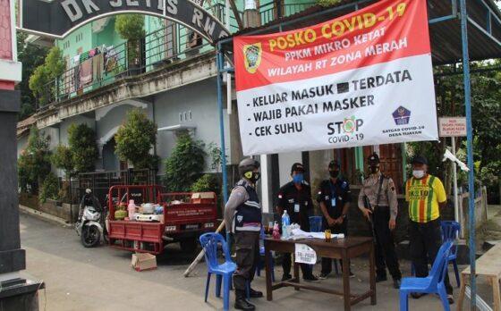 Akses Keluar Masuk di Dukuh Jetis Klaten Masih Dibatasi, Pintu Masuk Dijaga TNI dan Polisi