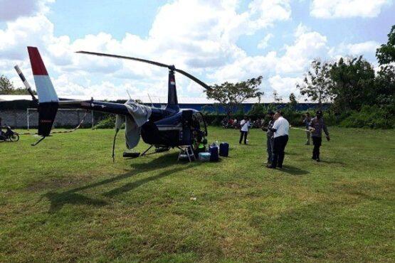 GPS Rusak, Helikopter BNPB Mendarat Darurat di Grobogan