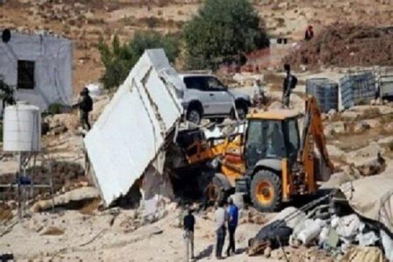 Pasukan Israel Gusur Bangunan di Hebron Palestina