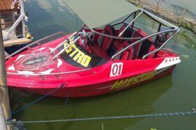 Wow Ada Speed Boat Made In New Zealand di Rawa Jombor Klaten