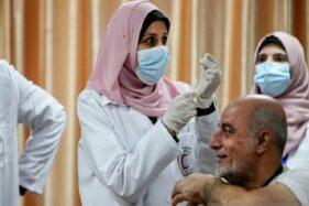 Palestina Batal Terima Vaksin Covid-19 Israel