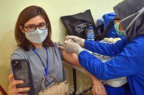 Vaksinasi Dosis I Jakarta Sudah 37,9%