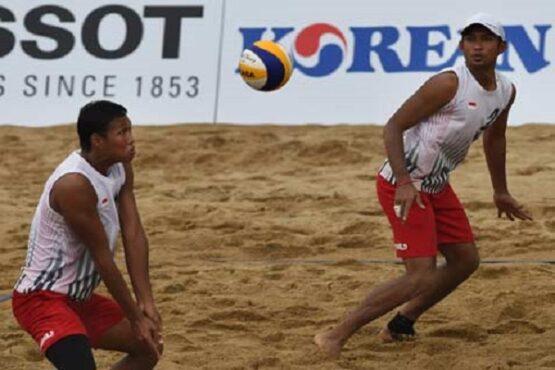 Tim Voli Pantai Indoneasia Berebut Tiket ke Olimpiade Tokyo