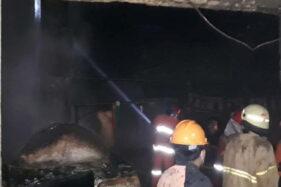 Pabrik Tahu di Gabugan Sragen Ludes Terbakar