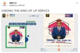 Soal The King of Lip Service, Jokowi Minta Kampus Tak Halangi Mahasiswa