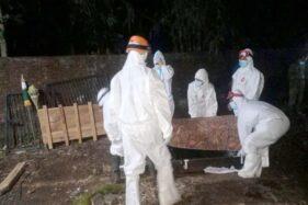 Masyarakat Desa di Wonogiri Dilatih Tata Cara Pemakaman Jenazah Covid-19