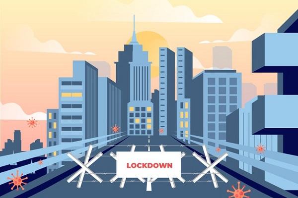 Ilustrasi city lockdown. (Freepik.com)