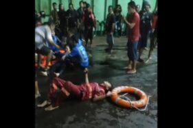 KMP Yunice Tenggelam di Perairan Gilimanuk, 44 Selamat