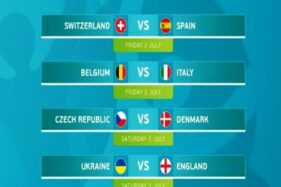 Catat, Ini Jadwal Siaran Langsung Perempat Final Euro 2020