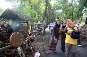 Pasar Kawak di Gebang Masaran Sragen, Ajang Edukasi Tradisi Tempo Dulu