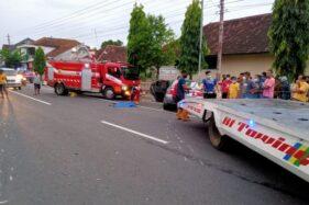 Mobil Sedan Keluar Jalur, Begini Kronologi Kecelakaan di Wonogiri yang Akibatkan Warga Nguter Sukoharjo Meninggal