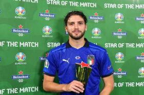 Manuel Locatelli Jadi Pemain Terbaik Saat Italia Tundukkan Swiss
