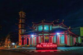 Ini Dia Masjid Berarsitektur Khas Tiongkok di Magelang
