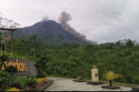 Gunung Merapi Pagi Ini: 2 Kali Luncurkan Awan Panas Guguran dan Lava Pijar sejauh 1,4 Km
