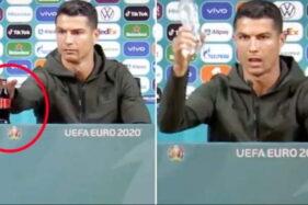 Botol Minumannya Disingkirkan Ronaldo Saat Jumpa Pers, Coca Cola Rugi Rp57 Triliun!