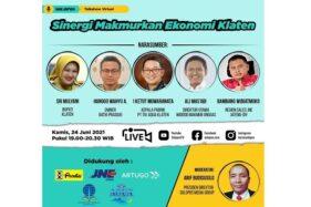 Jangan Kelewatan! Bupati Klaten dan Pengusaha Tampil di Talkshow Virtual Bareng Solopos Besok Malam
