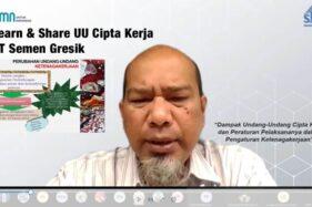 Bangun Hubungan Industrial yang Konstruktif, SG Gelar Learn & Share UU Cipta Kerja