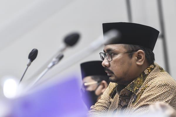 Menag Yaqut Janji Bahas Dini Haji 2022 dengan Arab Saudi