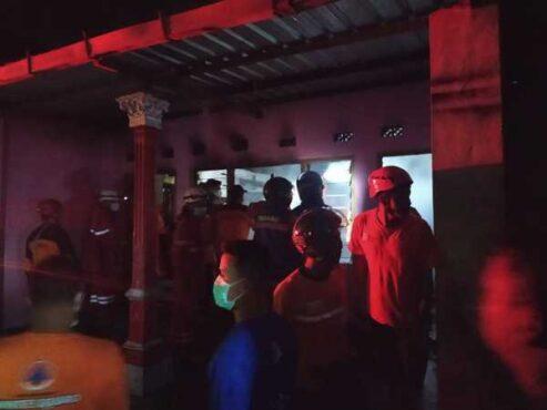 Bermula Dari Percikan Api Di Kamar, Rumah Warga Ngringo Karanganyar Ludes Terbakar