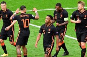 Klasemen Akhir Grup C Euro 2020: Belanda Tak Terkalahkan, Austria Kedua