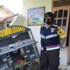 Salut! Bhabinkamtibmas Taskombang Klaten Aiptu Setyo Modifikasi Motor Dinas Jadi Perpustakaan Keliling