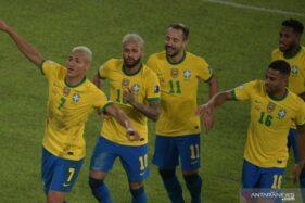 Copa America 2021: Brasil Gilas Peru 4-0, Neymar 1 Gol