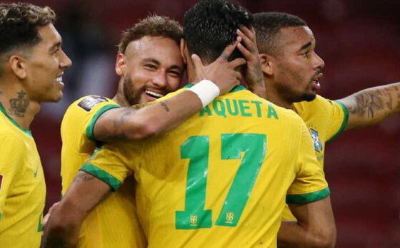 Copa America: Unggul 4 Gol Tanpa Balas, Brazil Terlalu Kuat untuk Peru