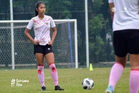 Masuk Timnas Sepak Bola Putri Indonesia, Bunga Bikin Bangga Kota Solo