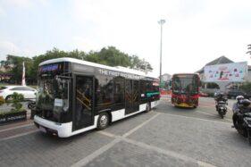 Solo Uji Coba Angkutan Bus Listrik dan Bus Low Deck, Lewat Koridor Mana?