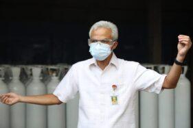 Ganjar: Stok Oksigen di Jateng Aman, Rumah Sakit Tak Perlu Panik