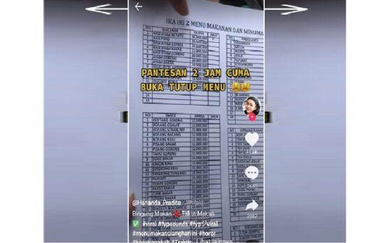 Viral Bikin Syok! Harga Nasi Ayam Goreng di Resto Tawangmangu Rp36 Juta