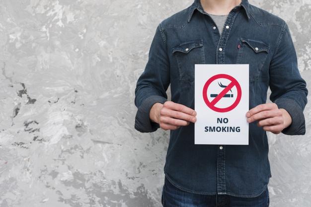 Ilustrasi berhenti merokok. (Freepik)