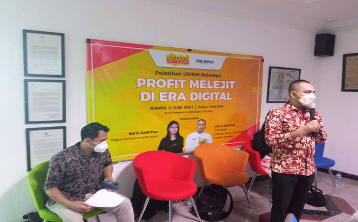 Biar Melejit, Indosat Ooredoo Dorong Pelaku UMKM Soloraya Garap Market Digital