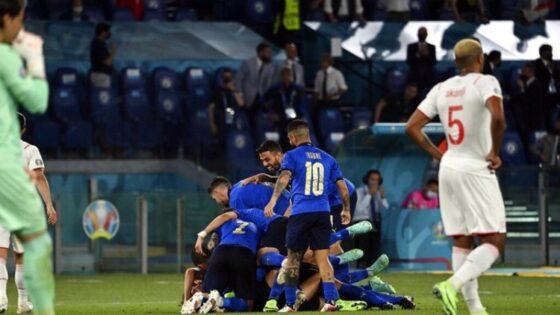Italia 3-0 Swiss: Menang Lagi, Gli Azzurri Lolos Duluan