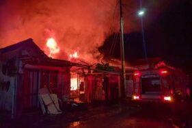 Korsleting Saat Isi Daya Sepeda Listrik, 3 Rumah Di Sondakan Solo Terbakar