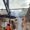 Rumah Warga Harjosari Karanganyar Ludes Terbakar, 5 Orang Mengungsi