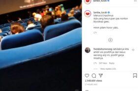 Viral Penonton Film Horor Conjuring Kesurupan, Efek Bioskop Kelamaan Tutup?
